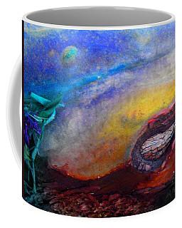 Coffee Mug featuring the digital art Travel by Richard Laeton