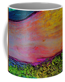 Coffee Mug featuring the digital art Walk Into The Future by Richard Laeton