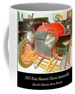 Coffee Mug featuring the photograph 1913 Stutz Bearcat Classic Automobile by A Gurmankin