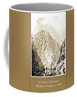 Coffee Mug featuring the photograph Pico Ruivo Mountain, Madeira, Portugal, C.1900 by A Gurmankin