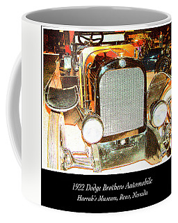 Coffee Mug featuring the photograph 1922 Dodge Brothers Classic Automobile by A Gurmankin