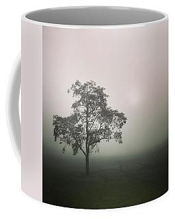 A Walk Through The Clouds #fog #nuneaton Coffee Mug by John Edwards