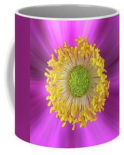Anemone Hupehensis 'hadspen Coffee Mug by John Edwards