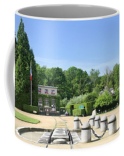 Coffee Mug featuring the photograph Armistice Clearing In Compiegne by Travel Pics