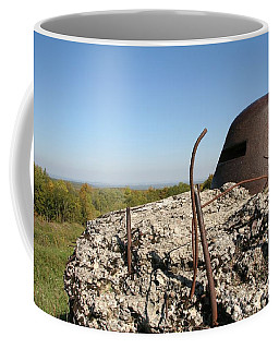 Coffee Mug featuring the photograph Fort De Douaumont - Verdun by Travel Pics