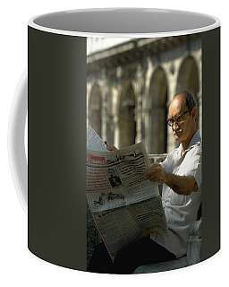 Coffee Mug featuring the photograph Havana by Travel Pics