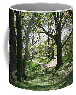 Coffee Mug featuring the photograph Hill 60 Cratered Landscape by Travel Pics