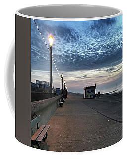 Hunstanton At 5pm Today  #sea #beach Coffee Mug by John Edwards