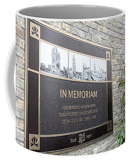Coffee Mug featuring the photograph In Memoriam - Ypres by Travel Pics