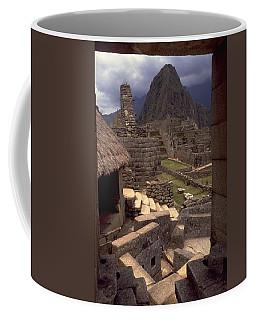 Coffee Mug featuring the photograph Machu Picchu by Travel Pics