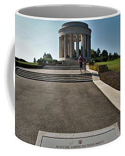 Coffee Mug featuring the photograph Montsec American Monument by Travel Pics