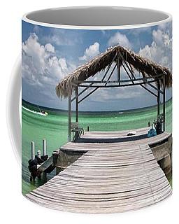 Pigeon Point, Tobago#pigeonpoint Coffee Mug by John Edwards
