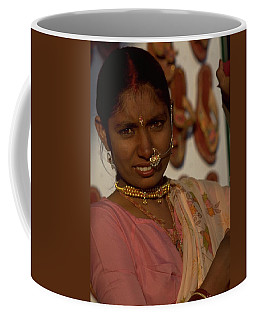 Coffee Mug featuring the photograph Rajasthan by Travel Pics