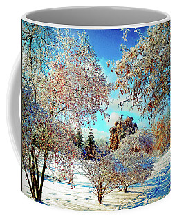 Coffee Mug featuring the photograph Realm Of The Ice Queen by Rodney Campbell