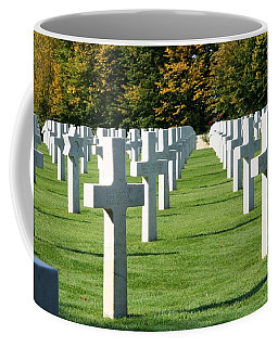 Coffee Mug featuring the photograph Saint Mihiel American Cemetery by Travel Pics