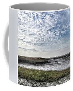 Salt Marsh And Creek, Brancaster Coffee Mug by John Edwards