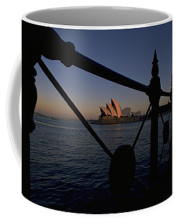Coffee Mug featuring the photograph Sydney Opera House by Travel Pics
