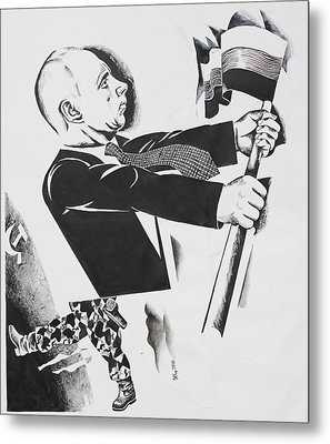 .          Forward  Russia Metal Print by Ivan Koretnikov
