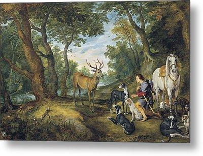 � Aisaeverett Collection Rubens, Peter Metal Print by Everett