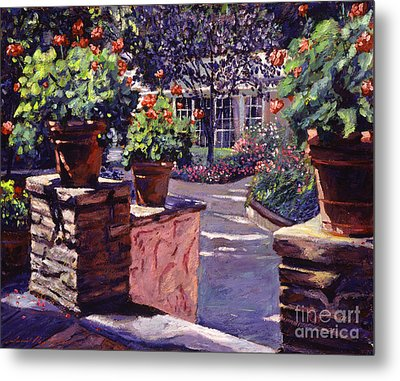 Bel-air Gardens Metal Print by David Lloyd Glover