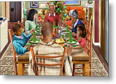 Bless Us O Lord And These Thy Gifts Metal Print by Reggie Duffie