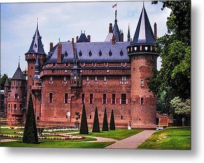 De Haar Castle 4. Utrecht. Netherlands Metal Print by Jenny Rainbow
