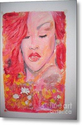 Love Rihanna Metal Print by John Fitzsimon