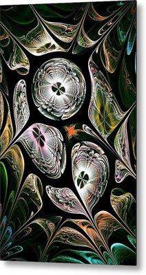 Night Vision Metal Print by Anastasiya Malakhova