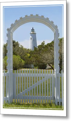 Ocracoke Island Lighthouse Metal Print by Mike McGlothlen
