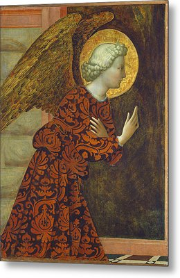 The Archangel Gabriel Metal Print by Tommaso Masolino da Panicale