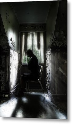 The Asylum Project - Waiting For The Miracle Metal Print by Erik Brede