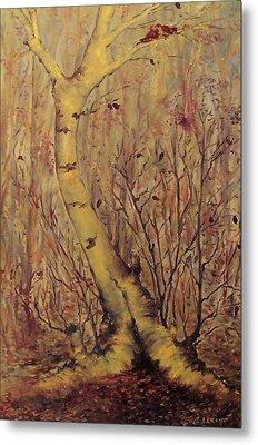 The  Loving  Tree Metal Print by Beth Arroyo