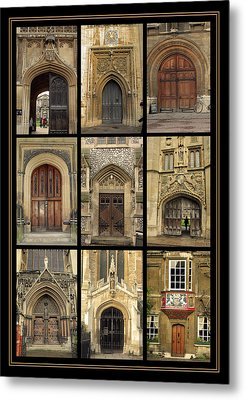 Uk Doors Metal Print by Christo Christov