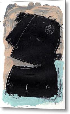 Umbra No. 4 Metal Print by Mark M  Mellon