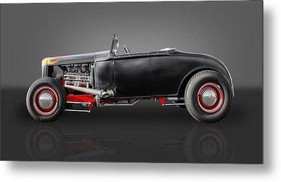 1930 Ford Street Rod Metal Print by Frank J Benz