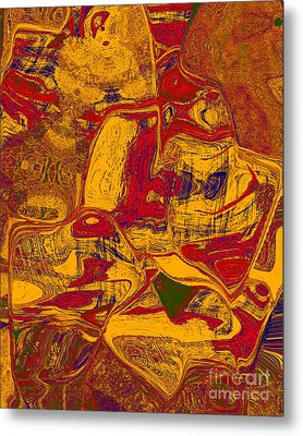 0518 Abstract Thought Metal Print by Chowdary V Arikatla