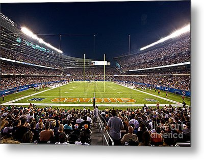 0588 Soldier Field Chicago Metal Print by Steve Sturgill