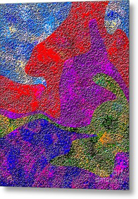 0732 Abstract Thought Metal Print by Chowdary V Arikatla