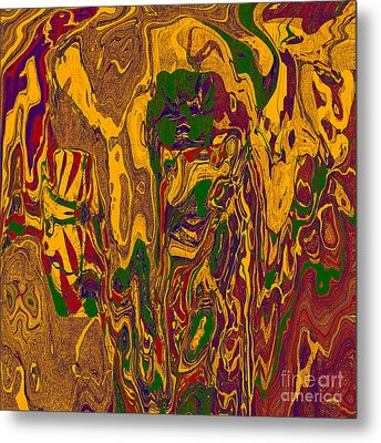 0478 Abstract Thought Metal Print by Chowdary V Arikatla