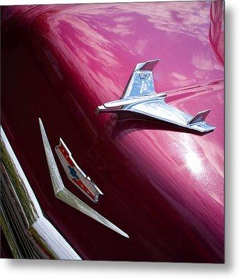 1956 Chevy Bel Air Metal Print by David Patterson