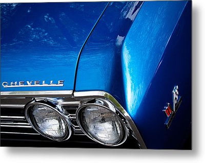 1967 Chevy Chevelle Ss Metal Print by David Patterson