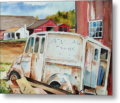 Forgotten Delivery  Metal Print by Scott Nelson