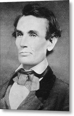 Abraham Lincoln Metal Print by Unknown
