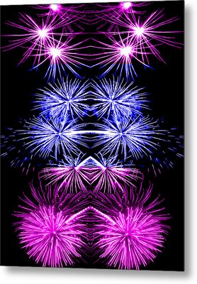 Abstract 135 Metal Print by J D Owen