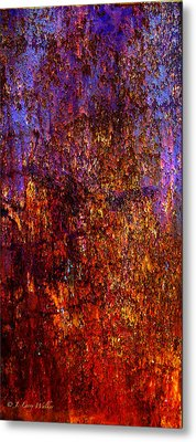 Abstract Metal Print by J Larry Walker