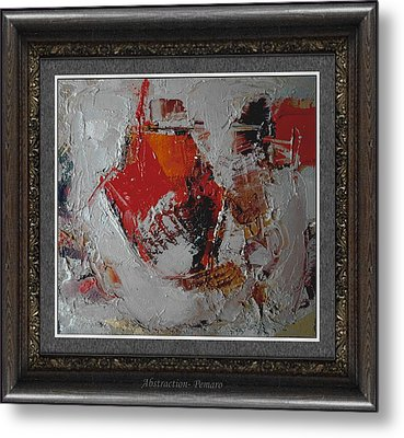 Abstraction Metal Print by Pemaro