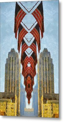 American Architecture Metal Print by Dan Sproul