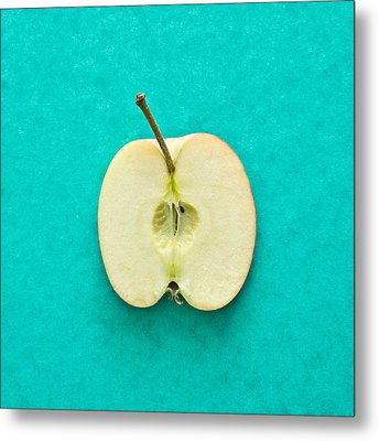 Apple Metal Print by Tom Gowanlock