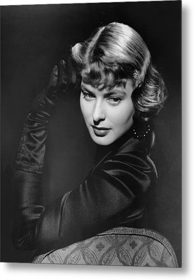Arch Of Triumph, Ingrid Bergman, 1948 Metal Print by Everett