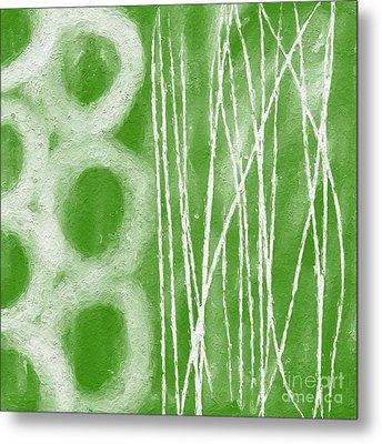 Bamboo Metal Print by Linda Woods